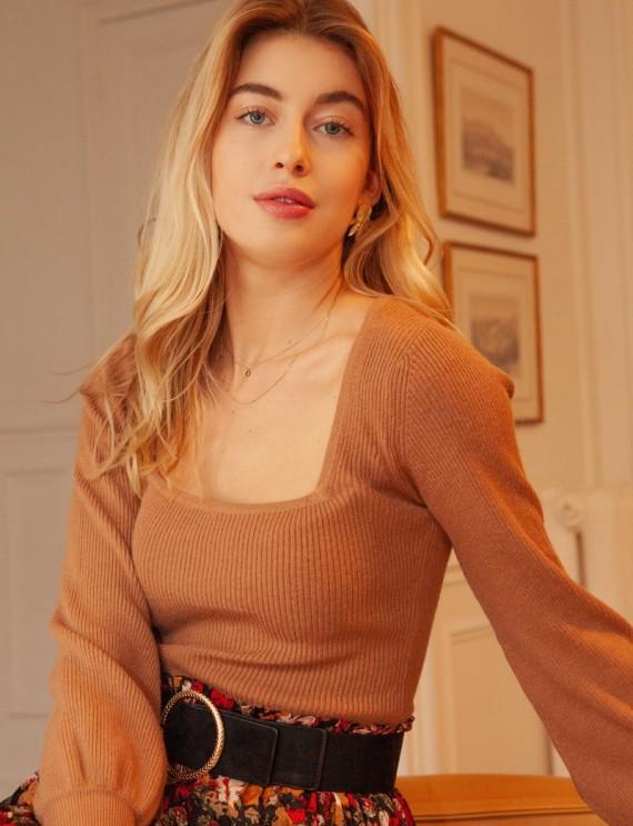 Camel Baptiste sweater