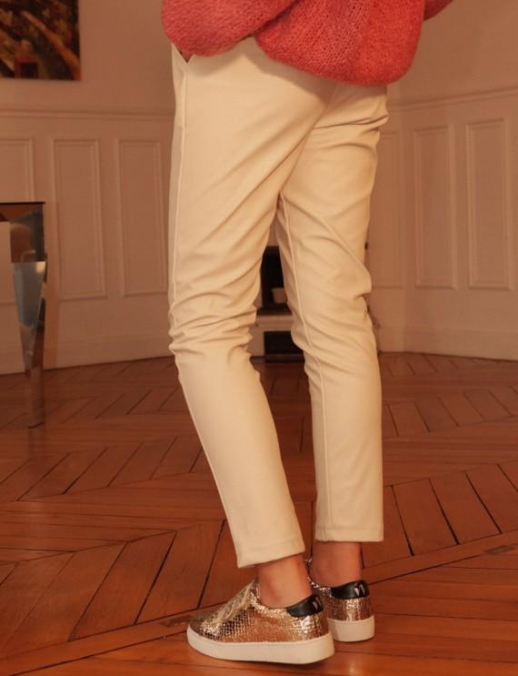 Pantalon beige Brice