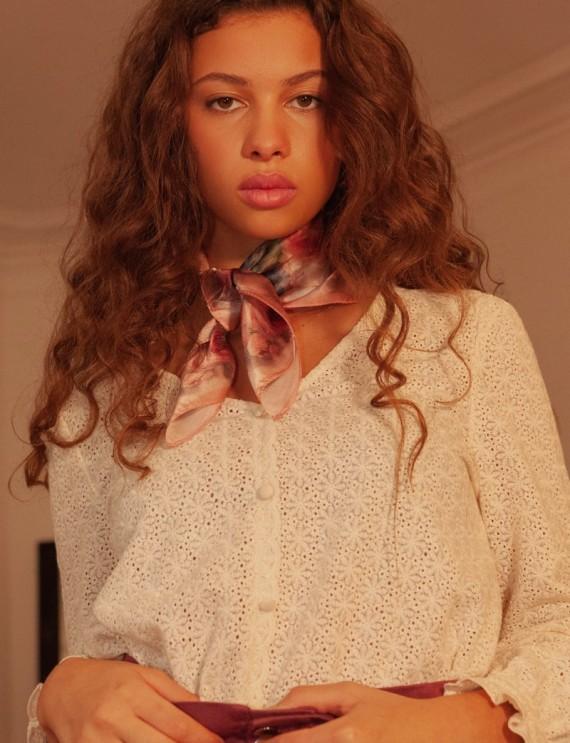 Blouse beige Lilia