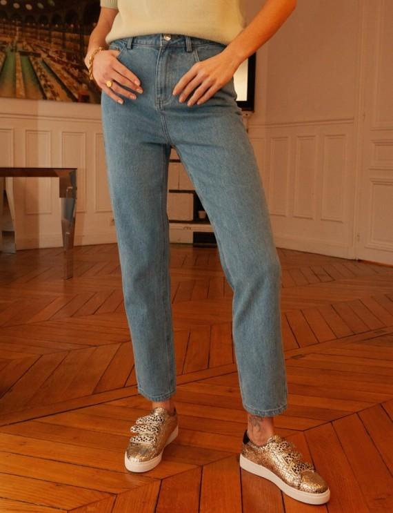 Light blue Mason mom jeans