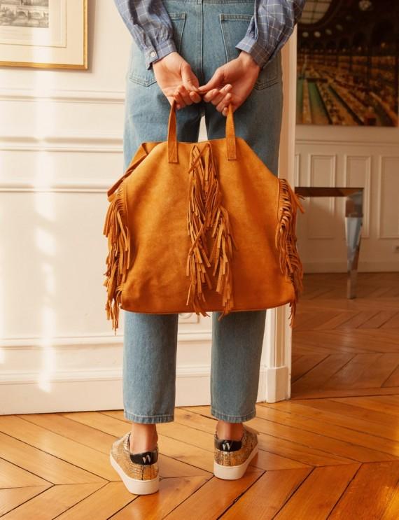 Camel Wild tote bag