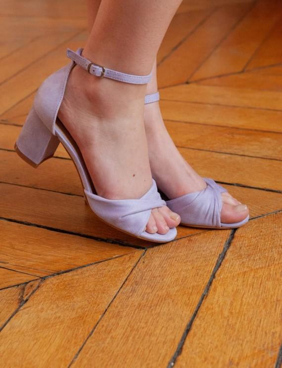 Lilac Ellia sandals