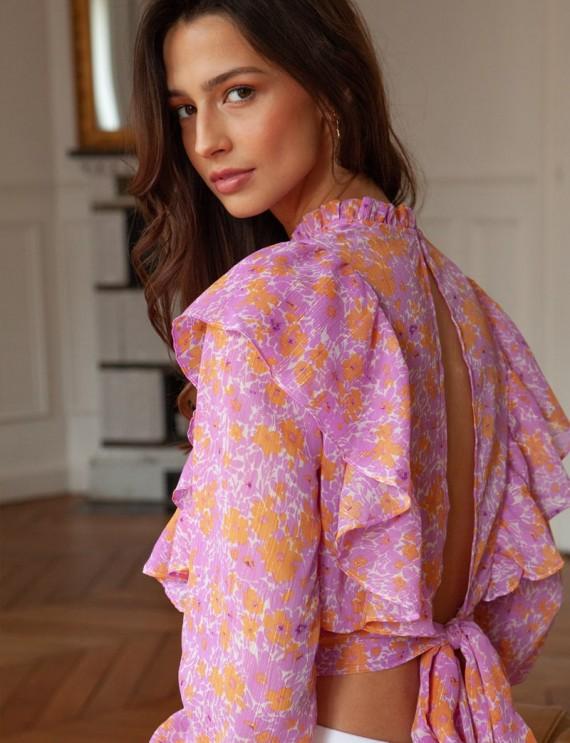 Floral Anna blouse