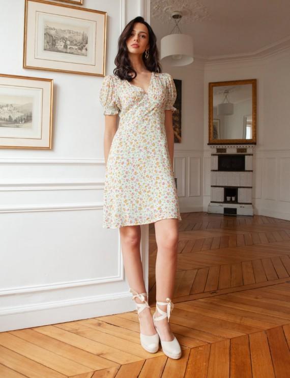 Floral Simone dress