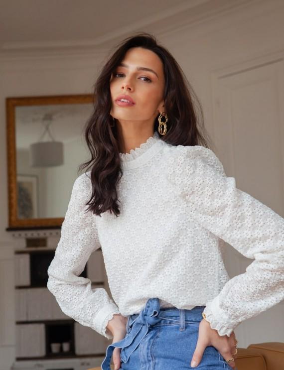 White Victoire blouse