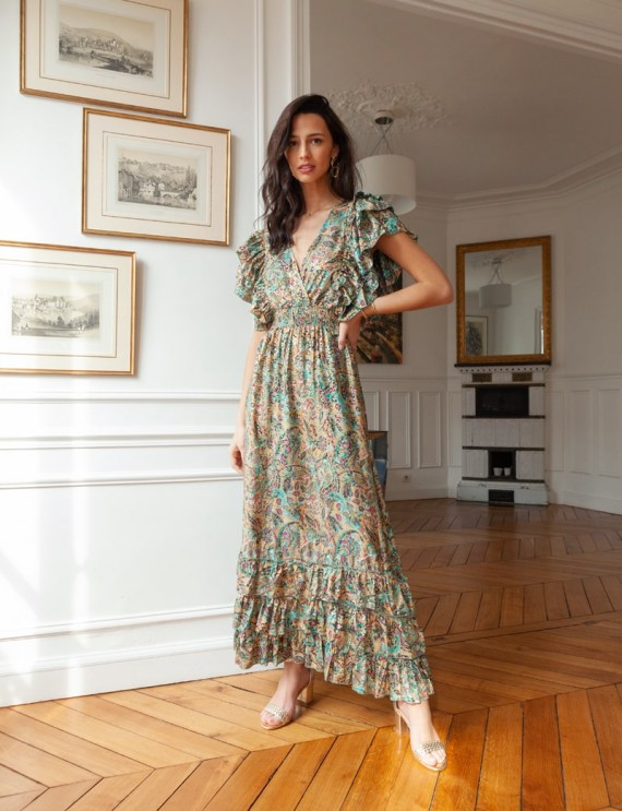 Robe imprimée Amalia