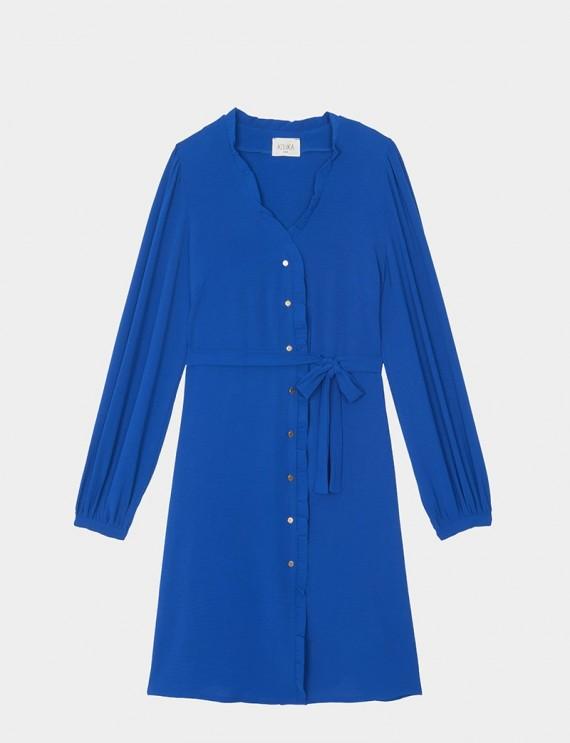 Robe bleue Jully