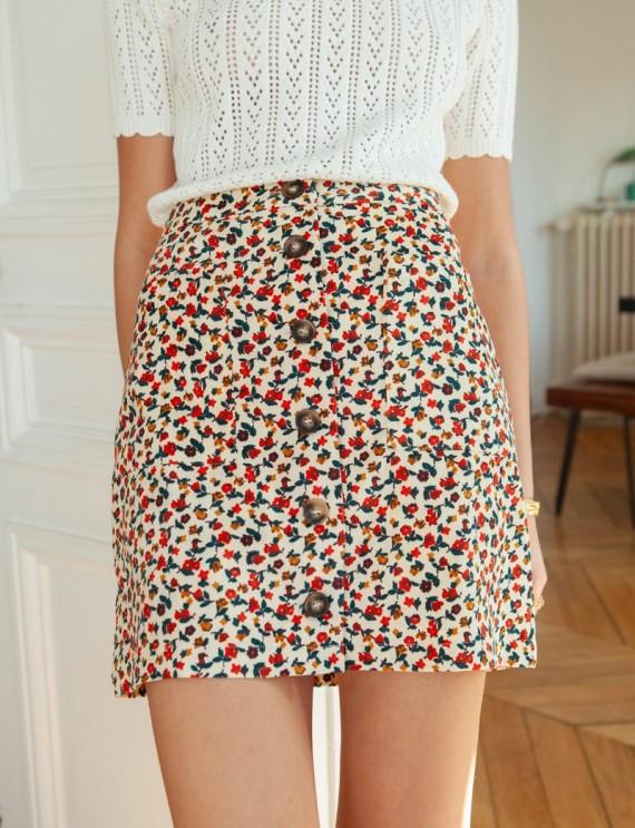Floral Clara skirt