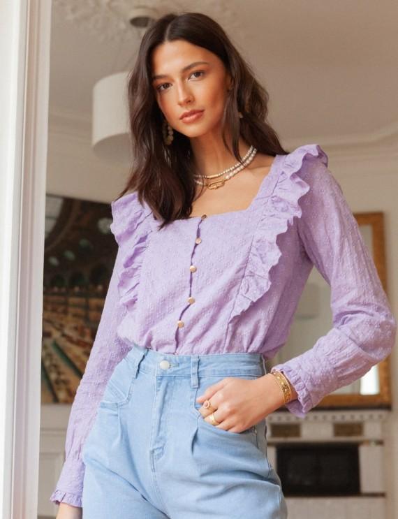 Lilac Artis blouse