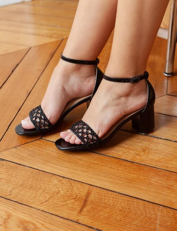 Black Bahia sandals