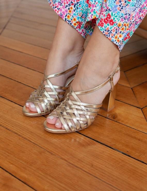 Golden Bahia sandals
