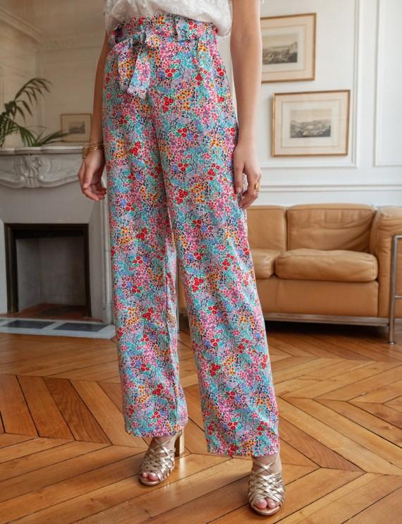 Floral Justin pants