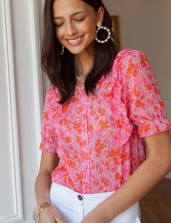 Floral Linda blouse