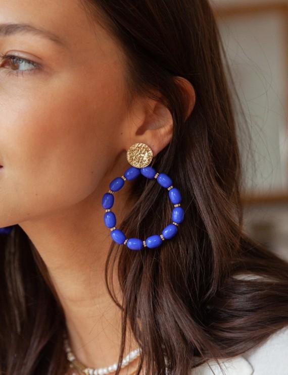 Indigo Oriana earrings