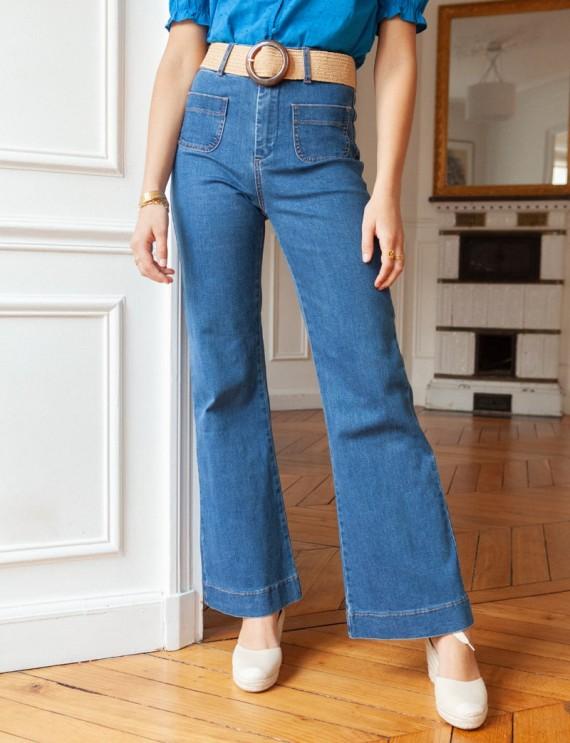 Dark blue Conrad jeans