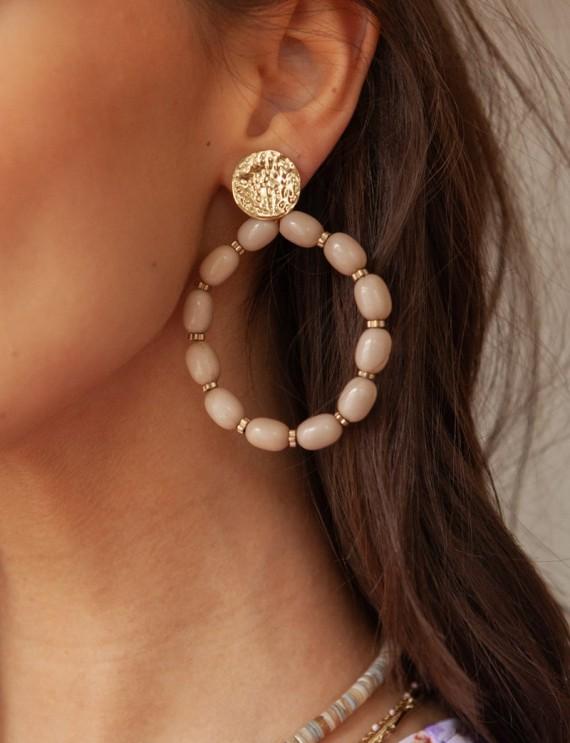 Boucles d'oreilles sable Oriana