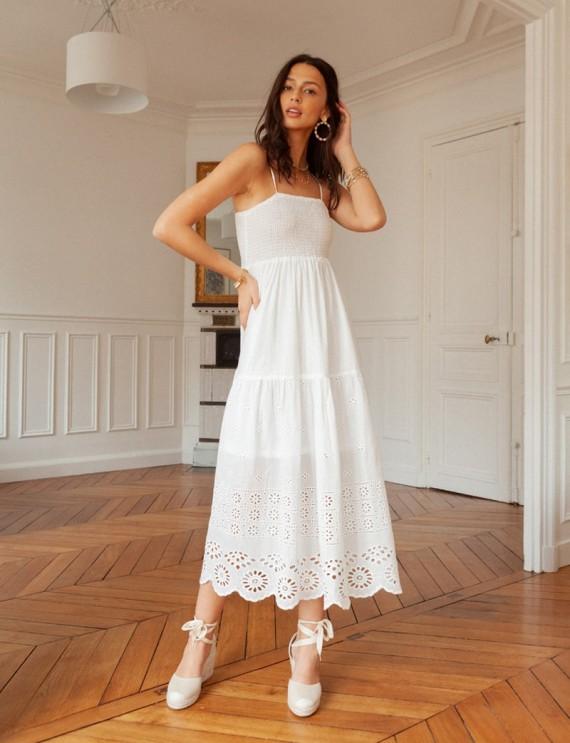 Robe blanche Ellaé
