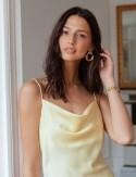 Col robe jaune Valéria