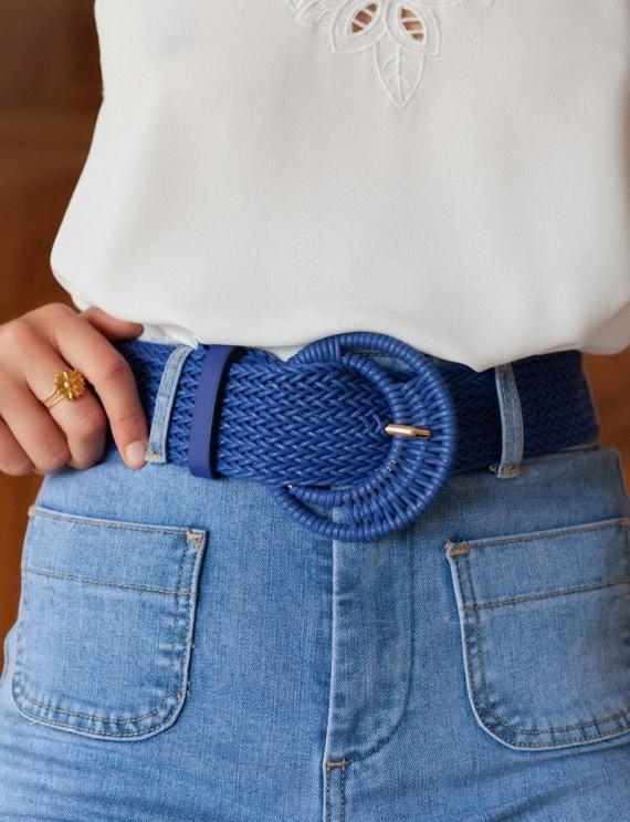 Blue Cow belt