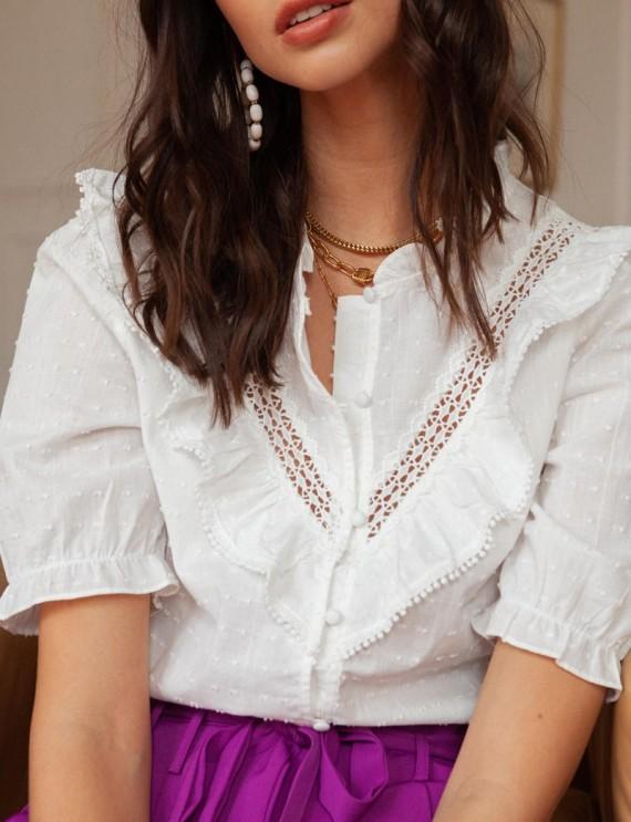 White Phila blouse