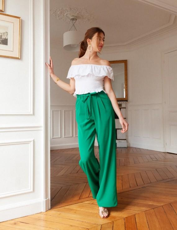 Mika green pants