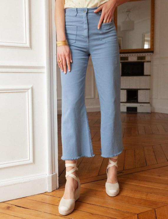 Pantalon bleu Victor