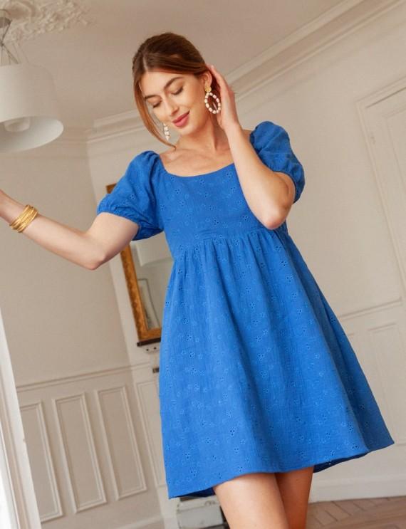 Robe bleue Neha