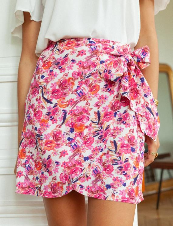 Jessy printed skirt