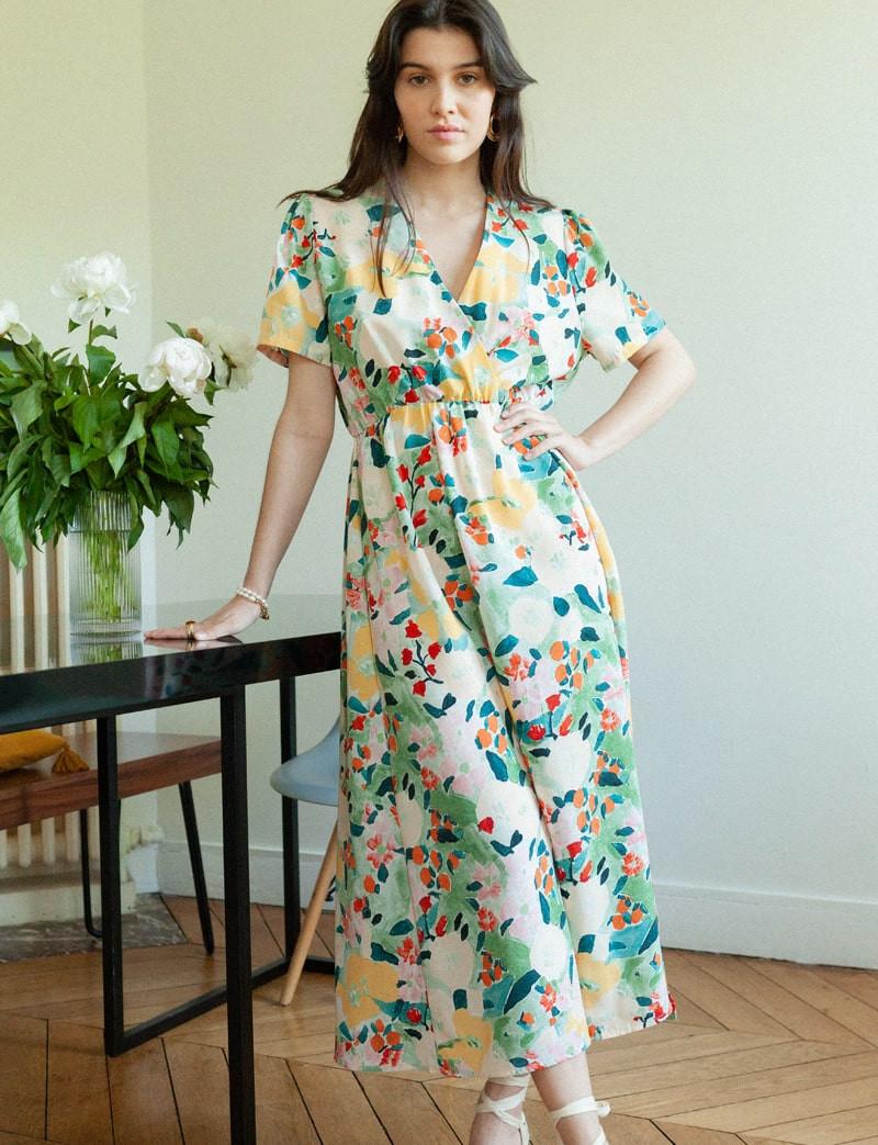 Robe fleurie Janisa