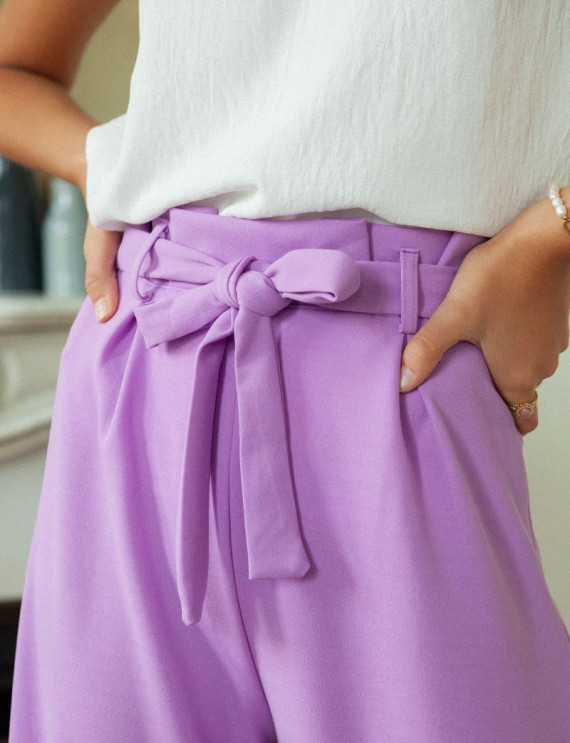 Taille pantalon lilas Josha