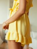 Côté combishort jaune Sunny