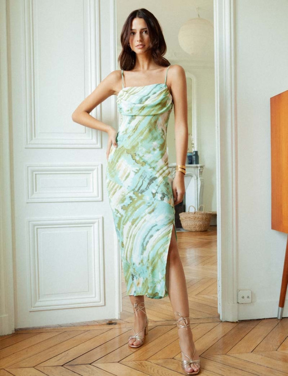 Alyssa printed dress