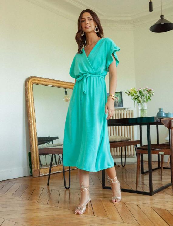 Turquoise Calia dress