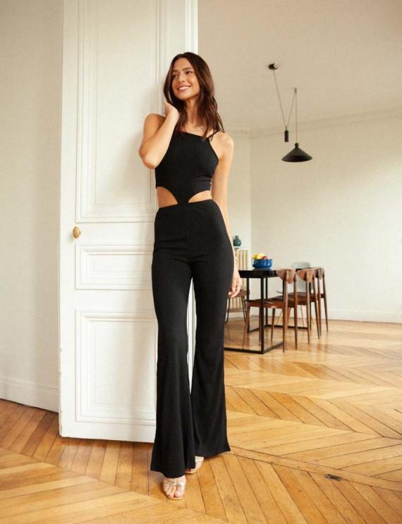 Black Alina jumpsuit