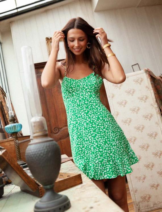 Green Samantha dress