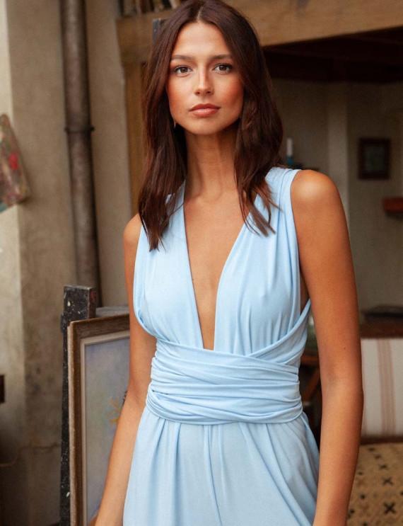 Blue Gabriella jumpsuit