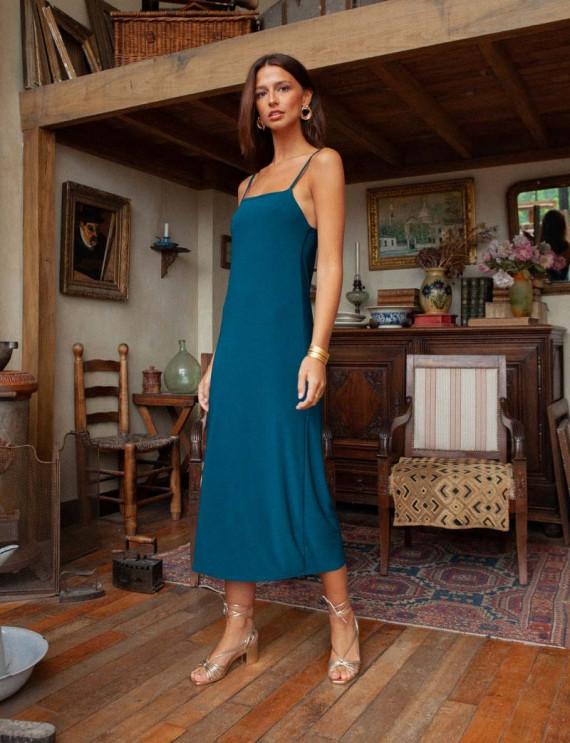 Pigeon blue Lola dress