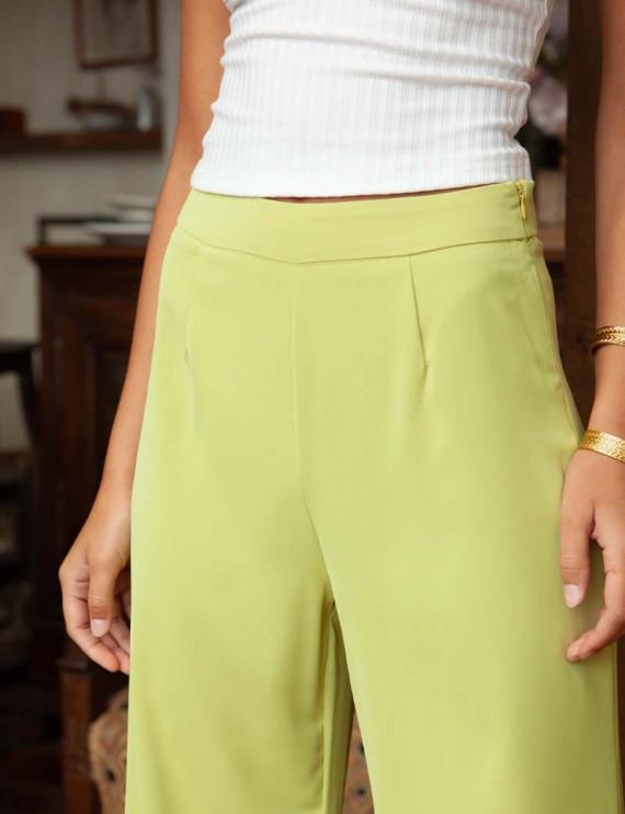 Pantalon vert Nicco