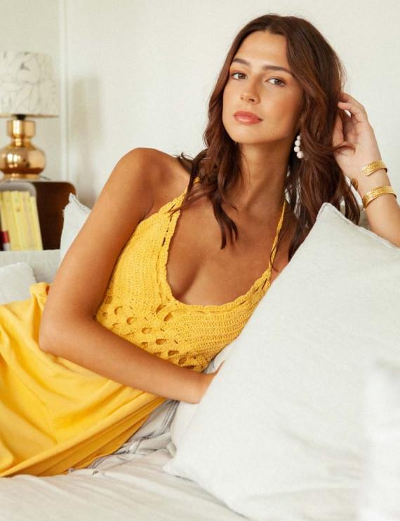 Yellow Tulum dress