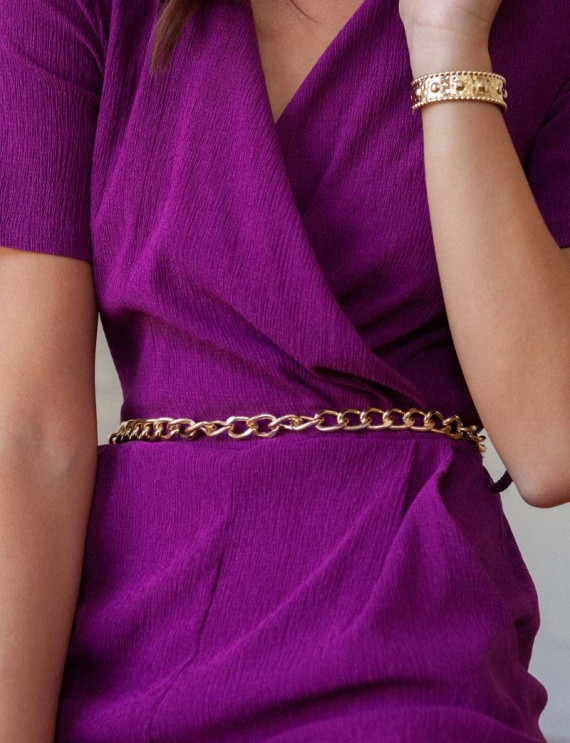 Golden Glory chain belt