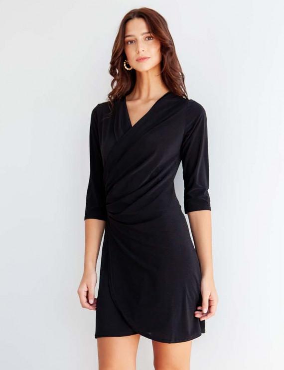 Black Natalia dress
