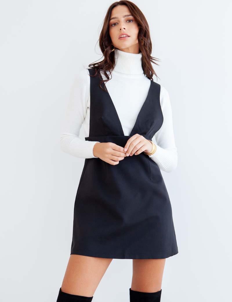 Robe noire Nela