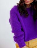 Pull mohair violet Martin