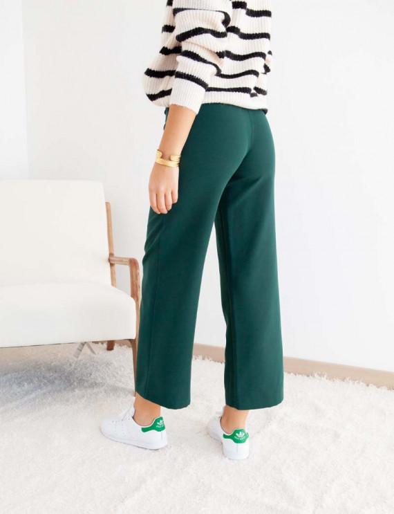 Dos pantalon vert Marius