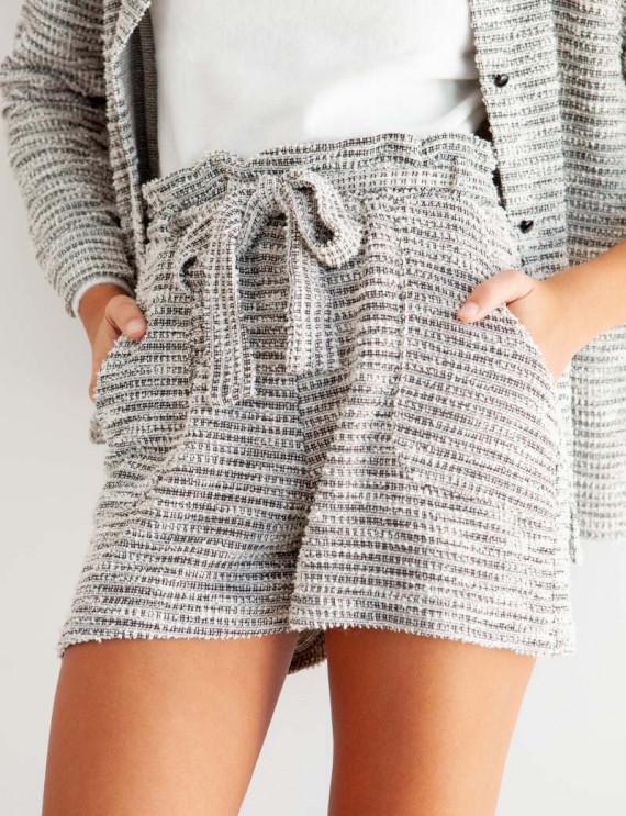 Textured Peter shorts