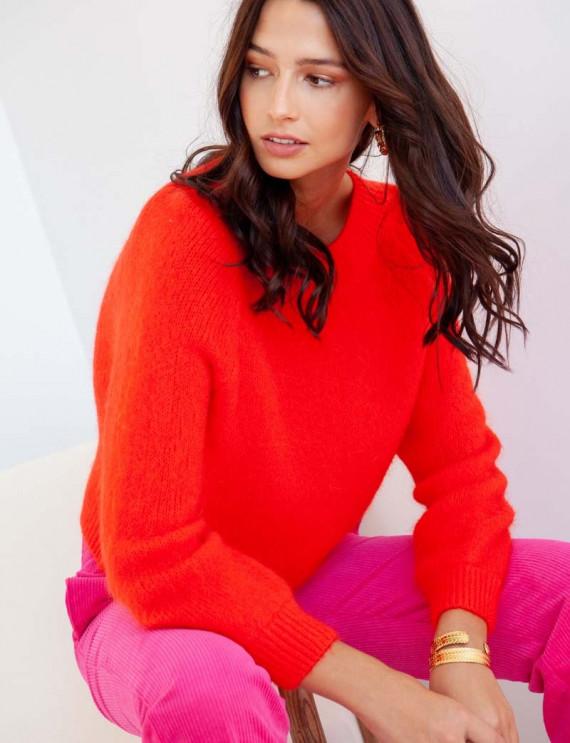 Orange Valentin sweater