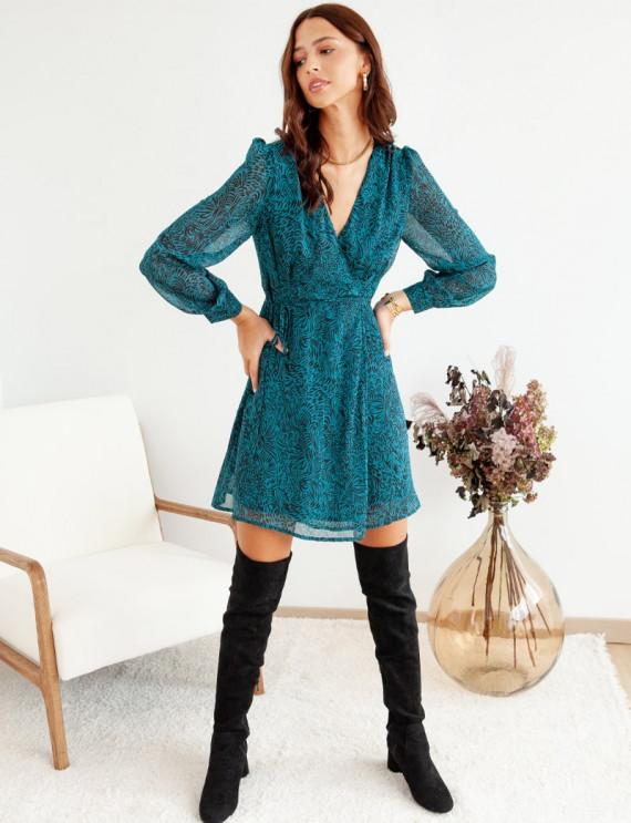 Petra printed dress
