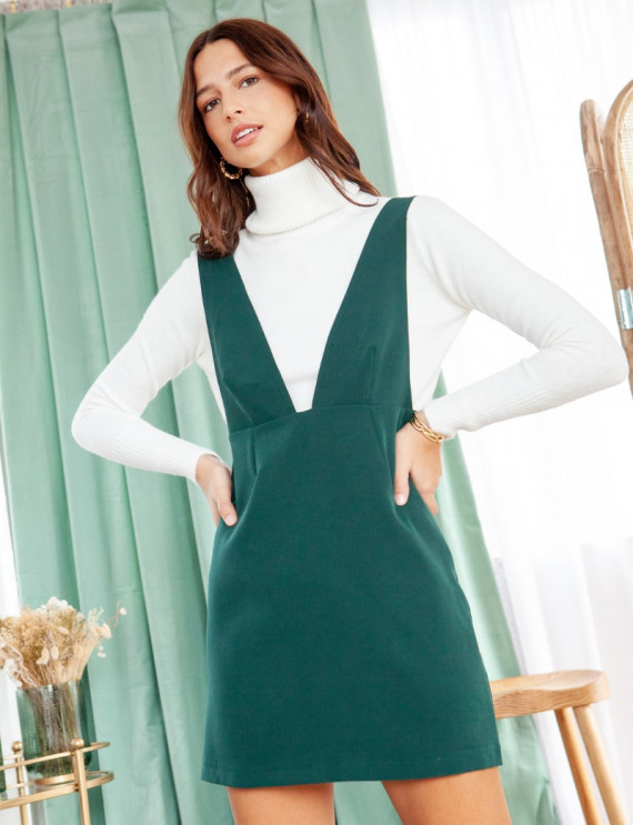 Green Nela dress