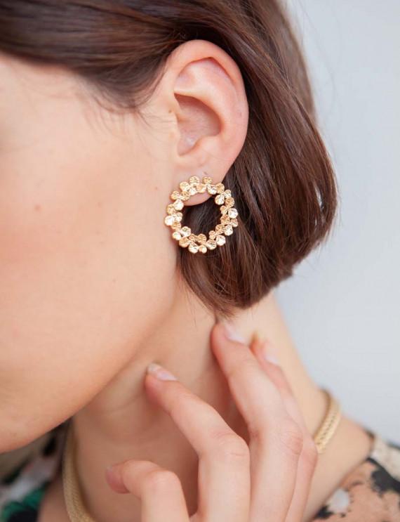 Golden Luce earrings