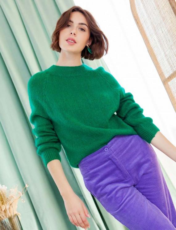 Green Valentin sweater